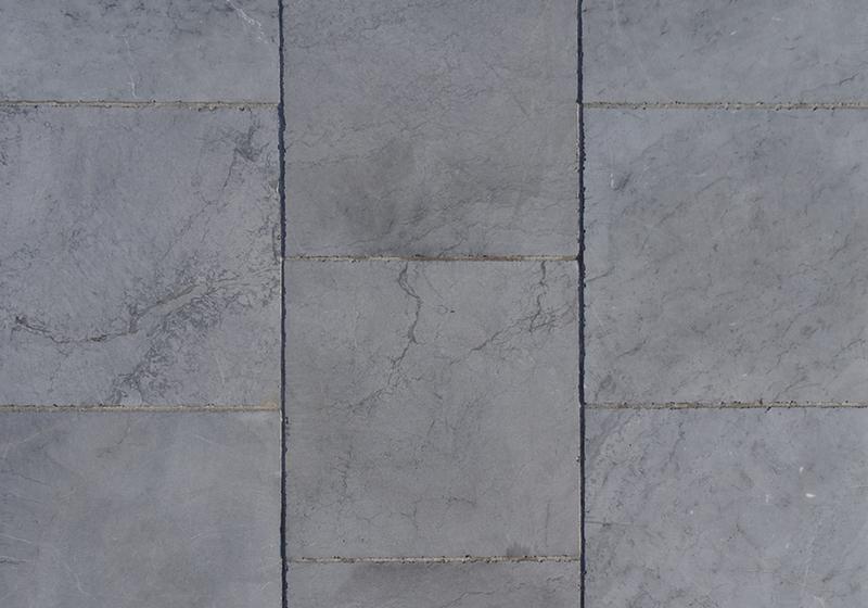 Oosterse blauwe kalksteen 15x15x2 5cm tegels getrommeld vandix - Oosterse tegels ...
